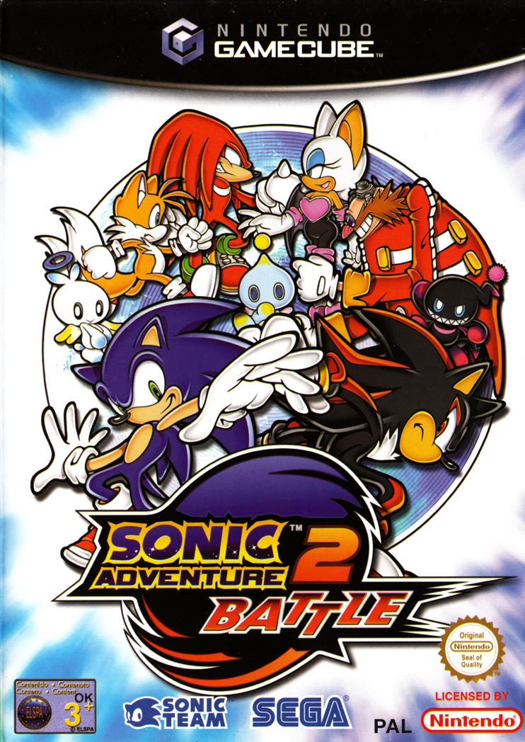 NGC May 2002 (15th Anniversary of the Gamecube) 66825-Sonic_Adventure_2_-_Battle_(Europe)_(En,Fr,De,Es)-1