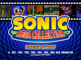 Sonic Mega Collection (Europe) (En,Fr,De,Es,It) ISO < GCN