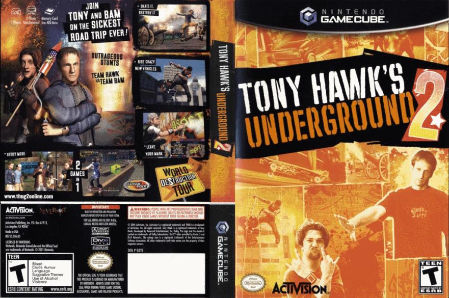 Tony hawk s underground 2 скачать игру
