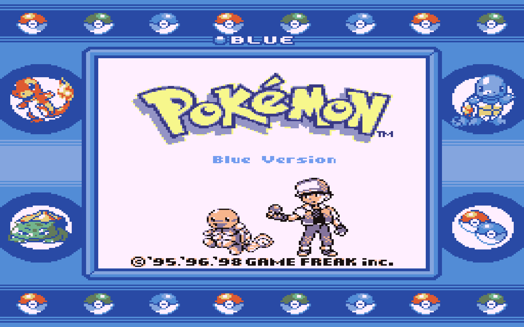 Gameboy color emulator online - Screenshot Thumbnail Media File 6 For Pokemon Blue Version Usa Europe