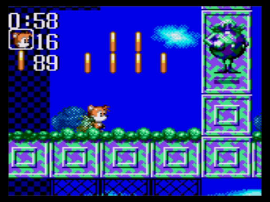 Image result for Game gear sonic chaos