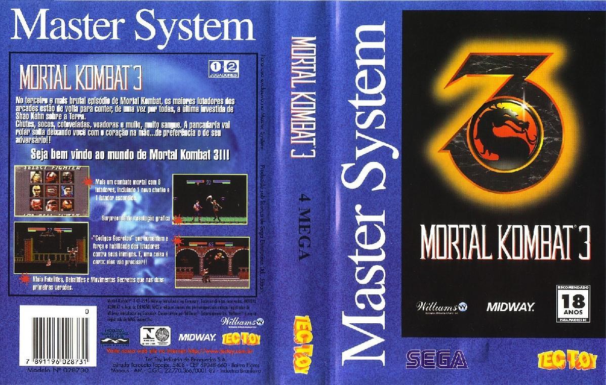 Mortal Kombat 3 (Brazil) ROM < SMS ROMs   Emuparadise