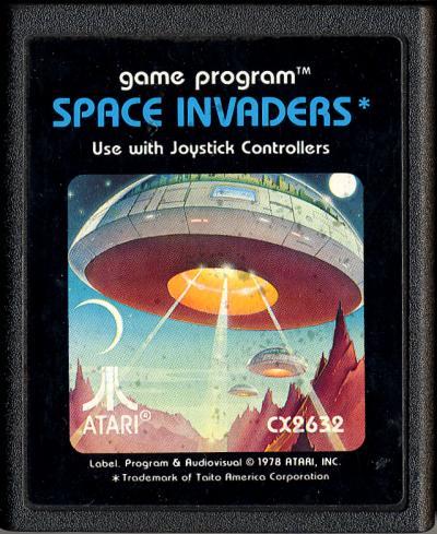 Resultado de imagem para space invaders atari