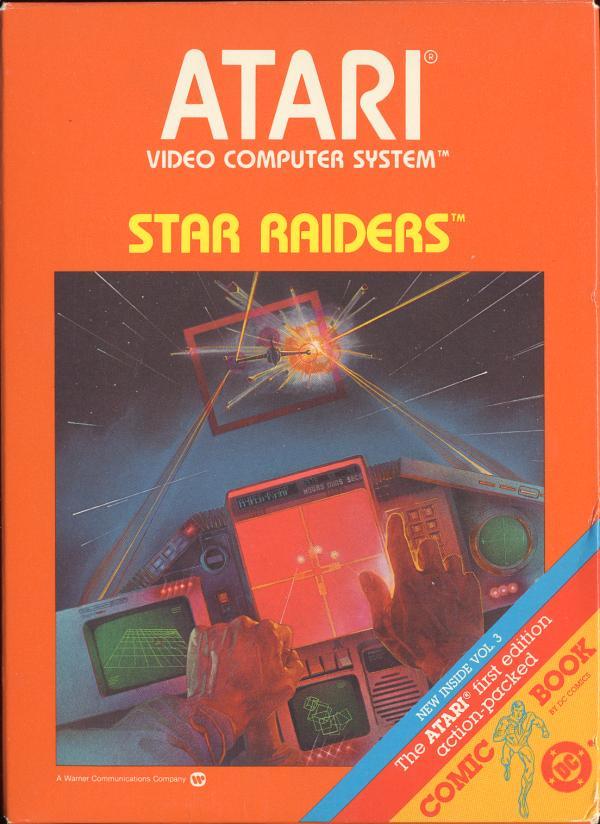 Star Raiders (Video Touch Pad) (1982) (Atari, Carla Meninsky - Sears