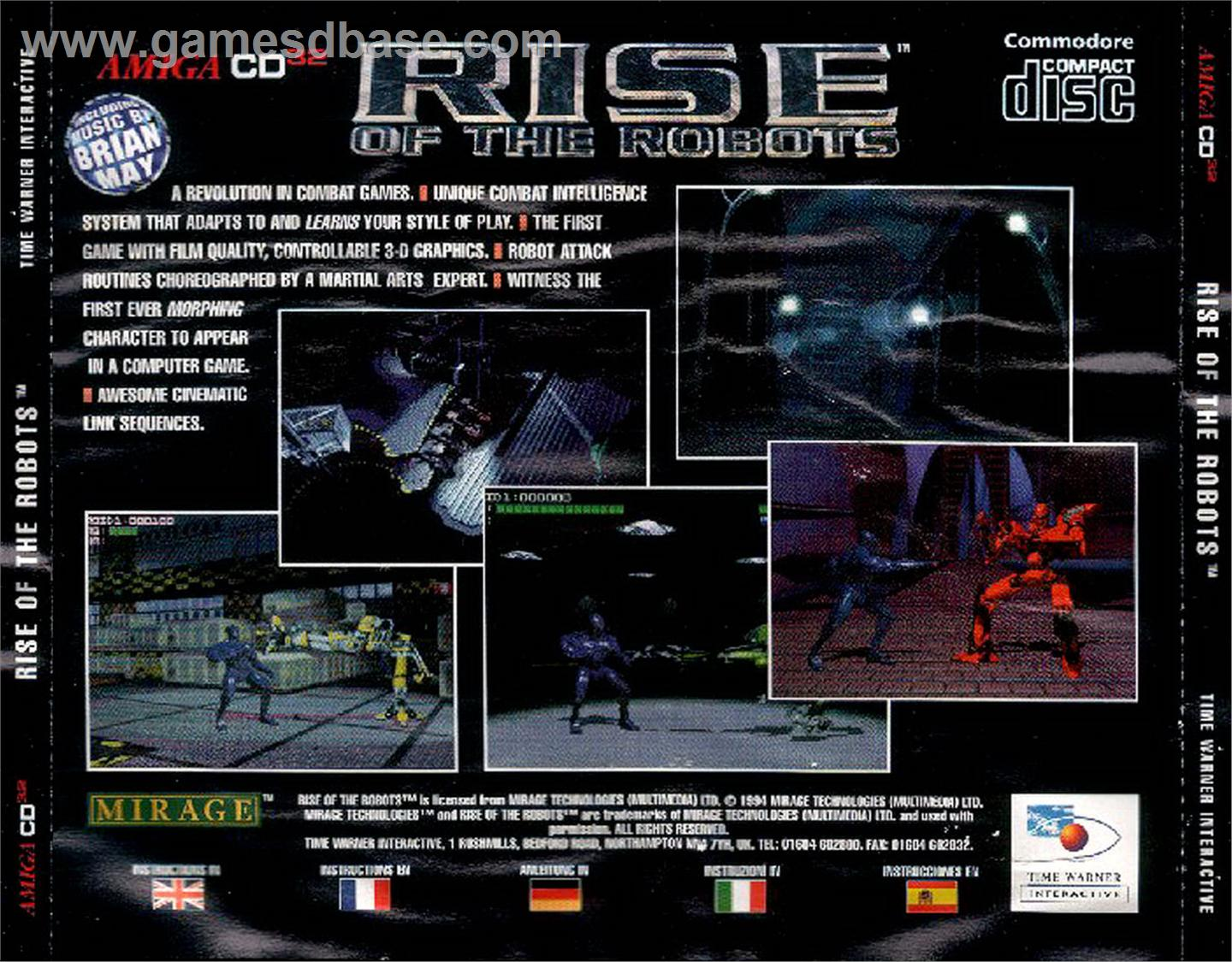 Rise Of The Robots (CD-i) ISO < CD-I ISOs | Emuparadise