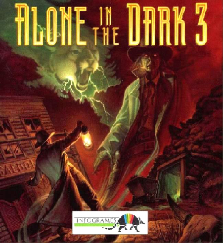 alone in the dark ps1 cover