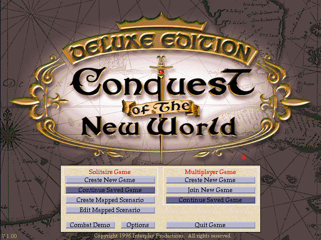 Conquest of the New World Deluxe (1996)(Interplay) Game