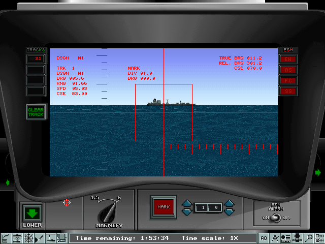 Fast Attack CD (1996)(Sierra Online) Game < DOS Games