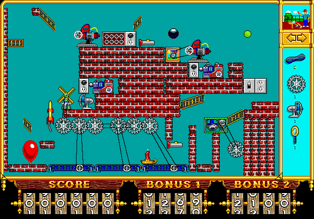 Incredible Machine (1993)(Sierra Online) Game < DOS Games