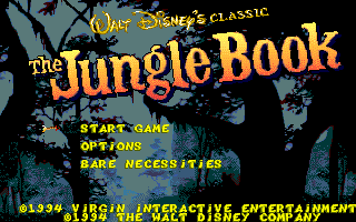 The Jungle Book Dos Game