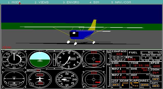 Microsoft Flight Simulator 3 0 (1988)(Microsoft Game Studios