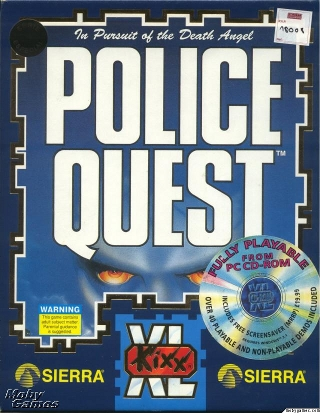 Police Quest 1 (1987)(Sierra Online) Game < DOS Games | Emuparadise