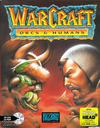 Warcraft Orcs And Humans 1 2 1994 Blizzard Entertainment Game