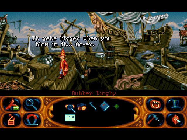 Simon the Sorcerer 2 (Floppy DOS) Game < ScummVM Games
