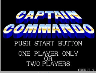Screenshot Thumbnail / Media File 1 for Captain Commando (World 911014)