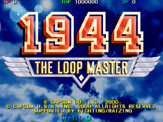 Screenshot Thumbnail / Media File 1 for 1944: The Loop Master (Japan 000620)