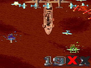 Screenshot Thumbnail / Media File 1 for 19XX: The War Against Destiny (Japan 960104, yellow case)