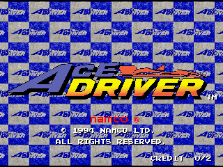 Screenshot Thumbnail / Media File 1 for Ace Driver: Racing Evolution (Rev. AD2)