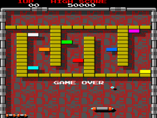 Screenshot Thumbnail / Media File 1 for Arkanoid (bootleg on Block hardware, set 1)