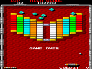 Screenshot Thumbnail / Media File 1 for Arkanoid - Revenge of DOH (World)
