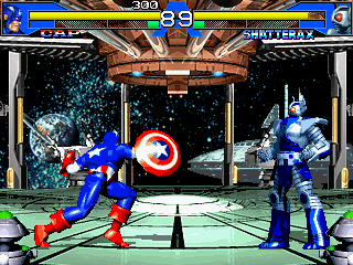 Screenshot Thumbnail / Media File 1 for Avengers In Galactic Storm (US)