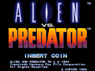 Screenshot Thumbnail / Media File 1 for Alien vs. Predator (Euro 940520)