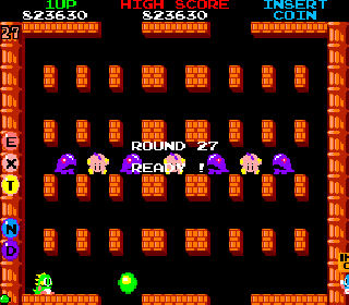 Screenshot Thumbnail / Media File 1 for Bubble Bobble (Japan, Ver 0.1)