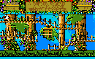 Screenshot Thumbnail / Media File 1 for Treasure Island Dizzy (1989)(Codemasters)