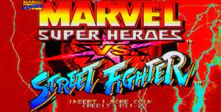 Screenshot Thumbnail / Media File 1 for Marvel Super Heroes Vs. Street Fighter (Euro 970625)