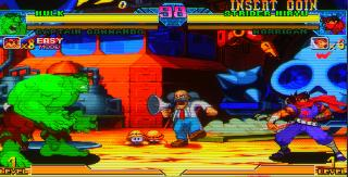 Screenshot Thumbnail / Media File 1 for Marvel Vs. Capcom: Clash of Super Heroes (Euro 980112)
