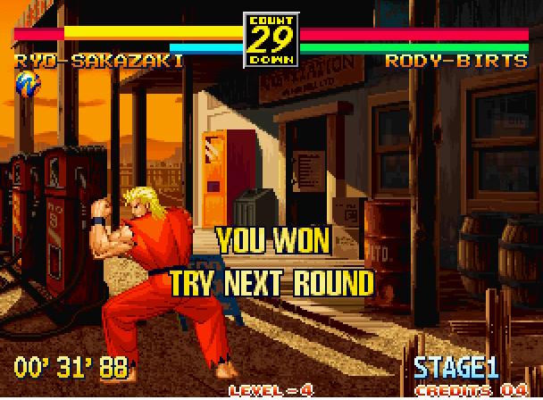 art of fighting 3 neo geo rom