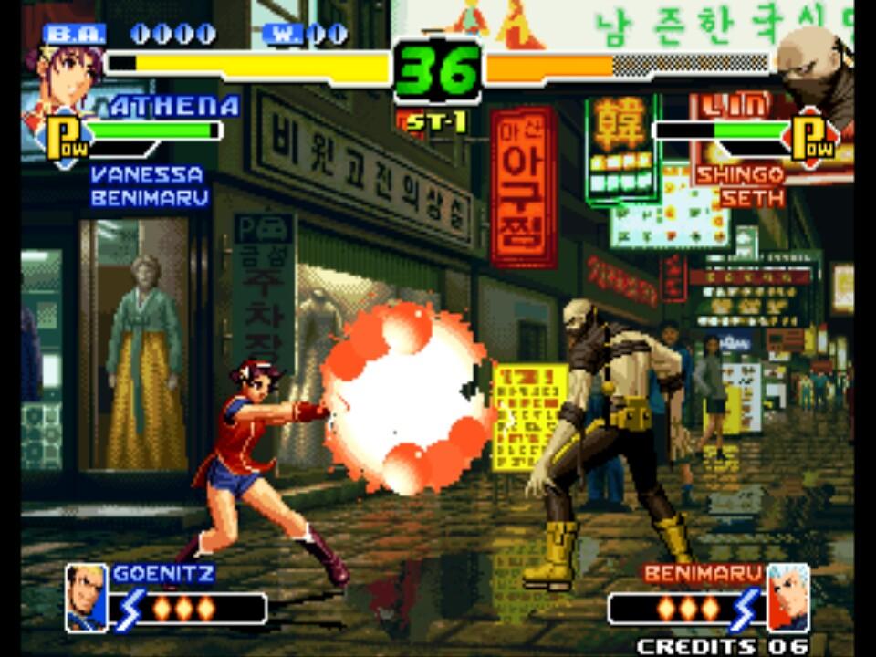 The King Of Fighters 2000 Rom Neogeo Roms Emuparadise