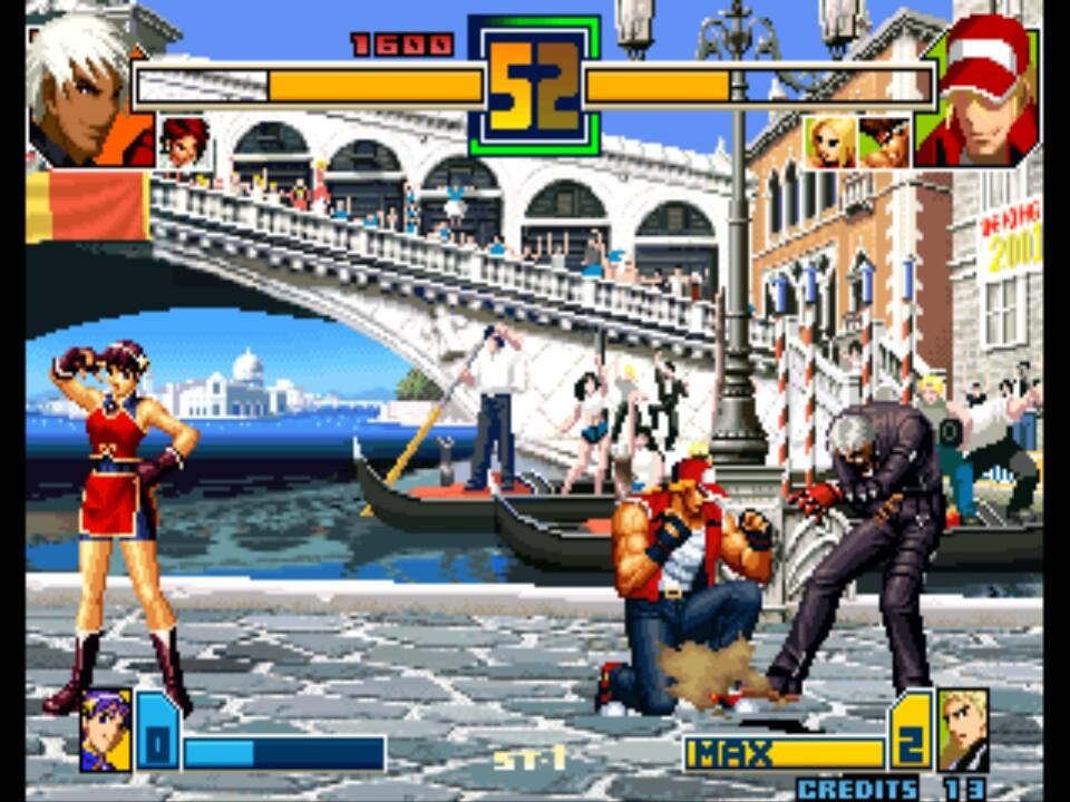 The King of Fighters 2001 (Set 1) ROM < NeoGeo ROMs