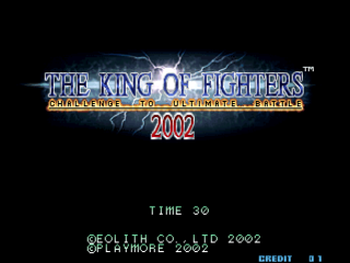 Screenshot Thumbnail / Media File 1 for The King of Fighters 2002 (Bootleg)