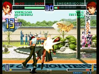 Screenshot Thumbnail / Media File 1 for The King of Fighters 2002