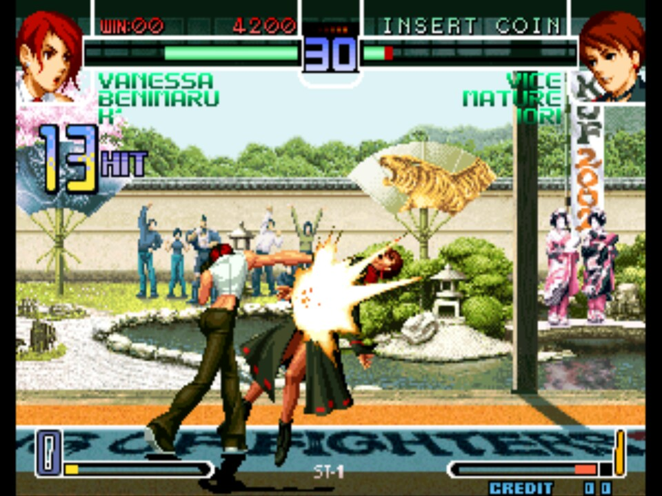 The King Of Fighters 2002 Rom Neogeo Roms Emuparadise