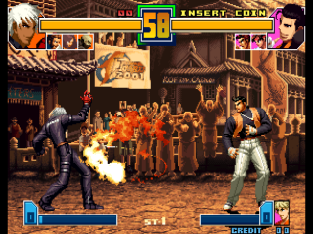 The King of Fighters 2001 (Decrypted C) (Non-MAME) ROM < NeoGeo ROMs