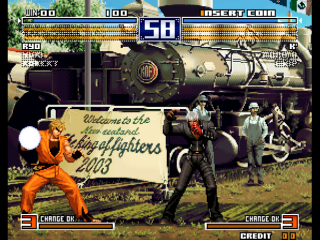 Screenshot Thumbnail / Media File 1 for The King of Fighters 2003 (Decrypted C) (Non-MAME)