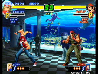 Screenshot Thumbnail / Media File 1 for The King of Fighters 2000 (Not Encrypted P, Decrypted C) (Non-MAME)
