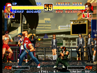 Screenshot Thumbnail / Media File 1 for The King of Fighters '96 (Set 2)