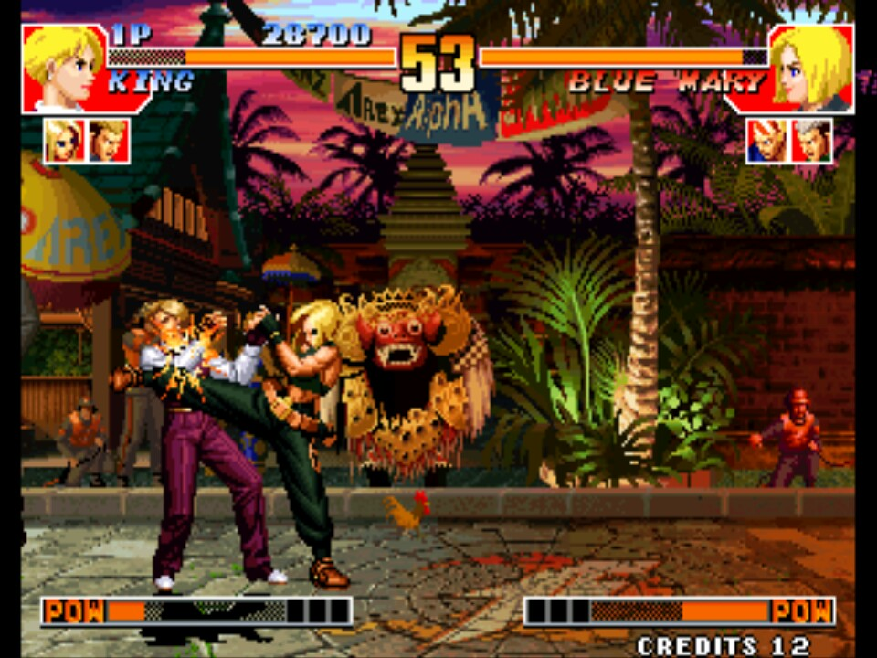The King Of Fighters 97 Set 1 Rom Neogeo Roms Emuparadise
