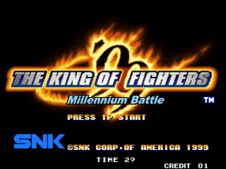 Screenshot Thumbnail / Media File 1 for The King of Fighters '99: Millenium Battle (Set 2)