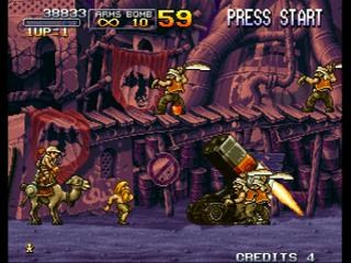 Screenshot Thumbnail / Media File 1 for Metal Slug X: Super Vehicle-001