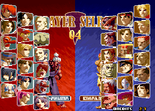 Screenshot Thumbnail / Media File 1 for SNK vs. Capcom: SVC Chaos (Decrypted C) (Non-MAME)