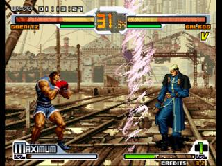Screenshot Thumbnail / Media File 1 for SNK vs. Capcom: SVC Chaos Super Plus (Bootleg)
