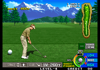 Screenshot Thumbnail / Media File 1 for Neo Turf Masters / Big Tournament Golf