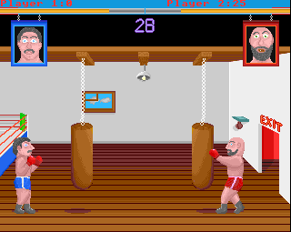 Screenshot Thumbnail / Media File 1 for All In Boxing (1994)(Arc World)