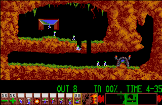 Screenshot Thumbnail / Media File 1 for Lemmings (1991)(Krisalis)