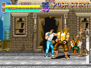 Screenshot Thumbnail / Media File 1 for Final Fight (World, set 1)