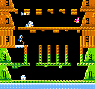 Screenshot Thumbnail / Media File 1 for Vs. Ice Climber (set IC4-4 B-1)